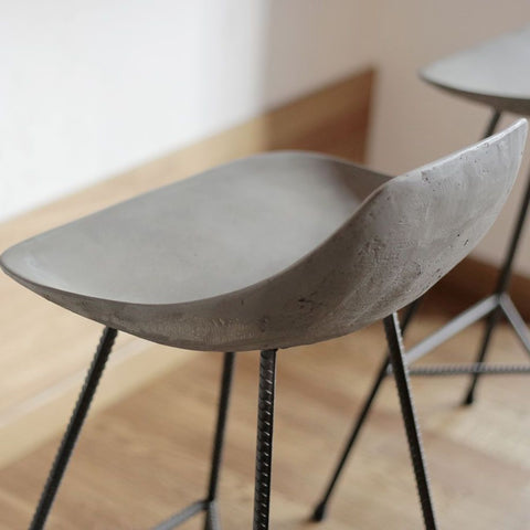 LYON BETON Bar Stool Hauteville counter chair version