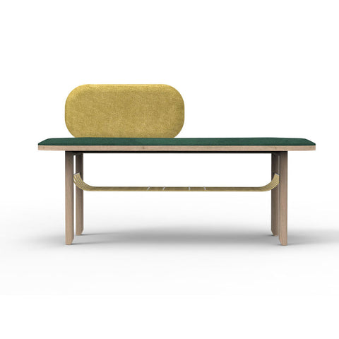 HARTO Bench Eustache Green