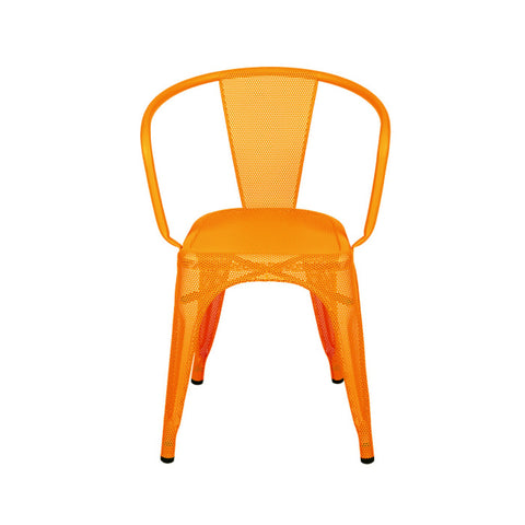 TOLIX Armchair A56 Perforated Painted