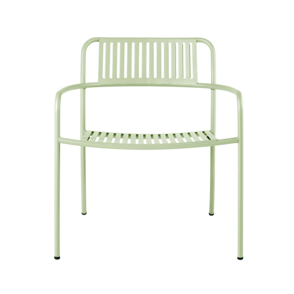 TOLIX Armchair Patio Lounge Stripe Outdoor Painted