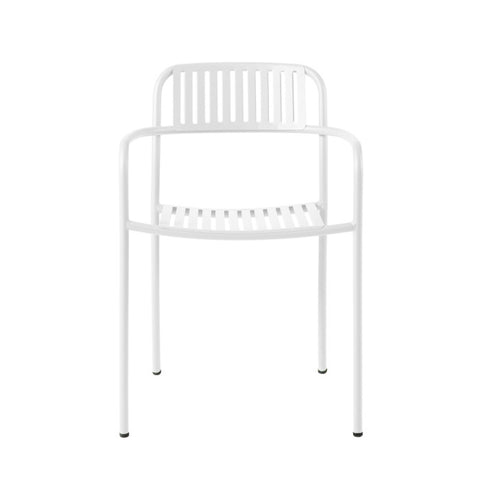 TOLIX Armchair Patio Stripe Outdoor Painted