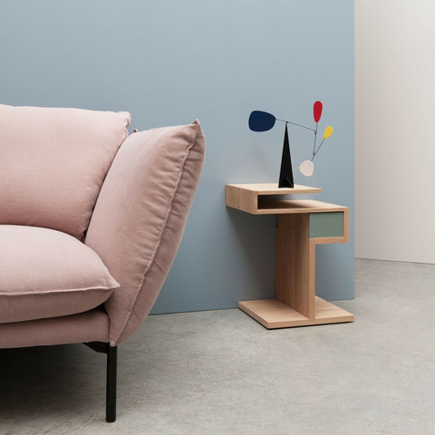 DRUGEOT Side Table Glycine Left