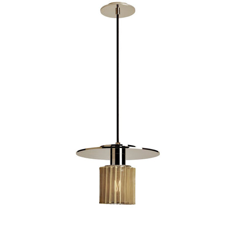 DCW EDITIONS Suspension Light In The Sun Ø27 cm Gold