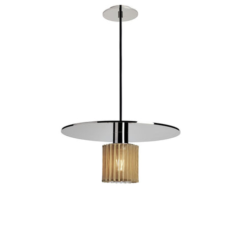 DCW EDITIONS Suspension Light In The Sun Ø38 cm Silver