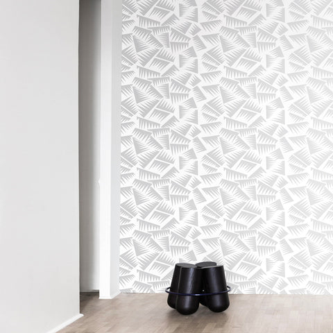 LA CHANCE Wallpaper Jer White & Silver