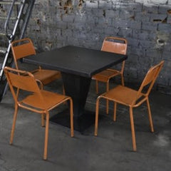 TOLIX Dining Table Kub Painted 70cm