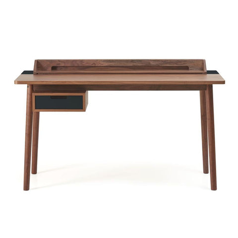 HARTO Desk Honoré Walnut Slate Grey
