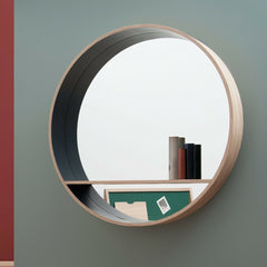 DRUGEOT Mirror Shelf Miroir-Console 80