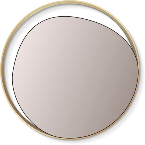 RED EDITION Mirror Ellipse Copper Pink