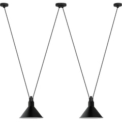 DCW EDITIONS Suspension Light Les Acrobates de Gras 324 Black