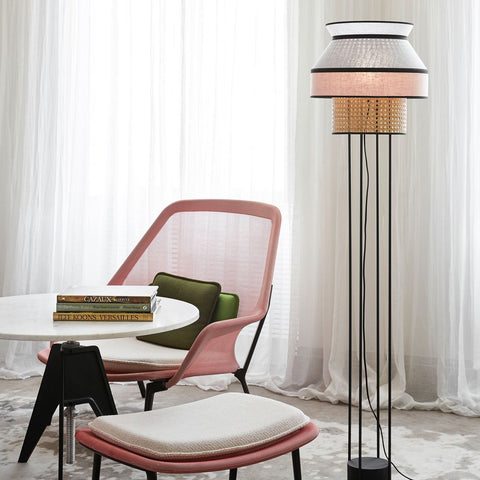 MARKET SET Floor Lamp Singapour 158cm