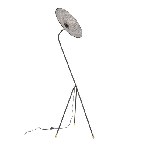 MARKET SET Floor Lamp Gatsby Printed 180cm