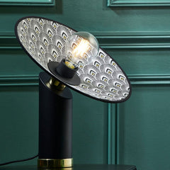 MARKET SET Table Lamp Gatsby Printed 32cm