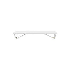 MAZE Shelf Pythagoras XS White Shelf + 2 White Brackets