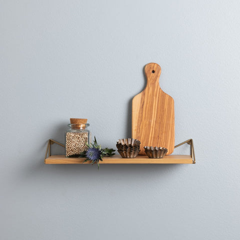 MAZE Shelf Pythagoras Natural Oak