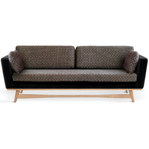 RED EDITION Sofa 210 Natural frame Mosaïk