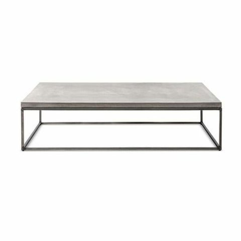 LYON BETON Coffee Table Perspective rectangular version