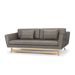 RED EDITION Sofa 210 Natural frame Caviar