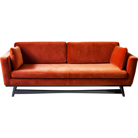 RED EDITION Sofa 210 Black Frame Fox