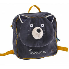 "MOULIN ROTY Alphonse backpack ""Les Moustaches"""