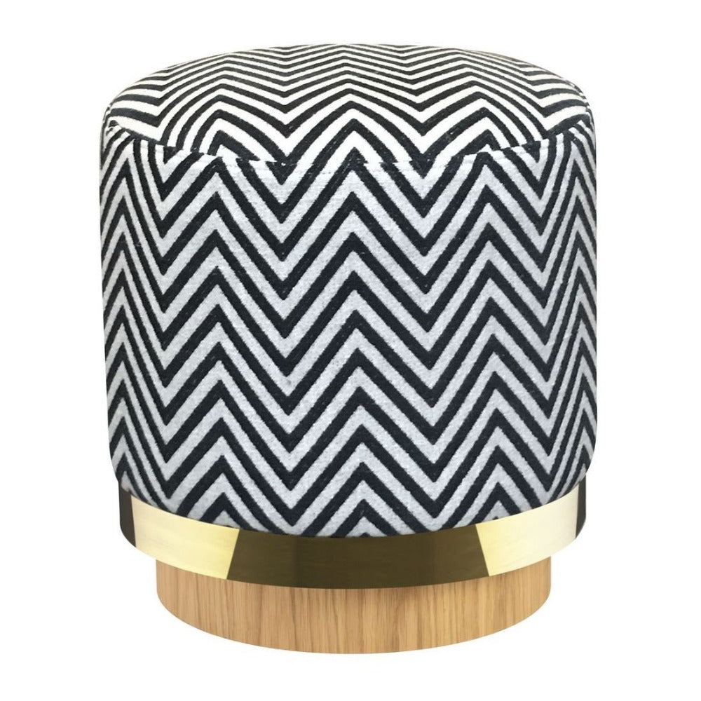 RED EDITION Stool Zebra