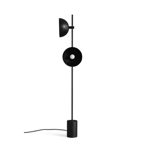 HANDVÄRK Floor Lamp Studio Black & Brass