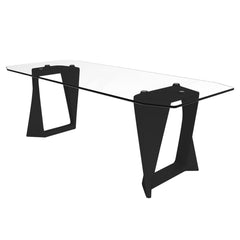 QUI EST PAUL Recycled Plastic Table Iso Glass Tray 220cm