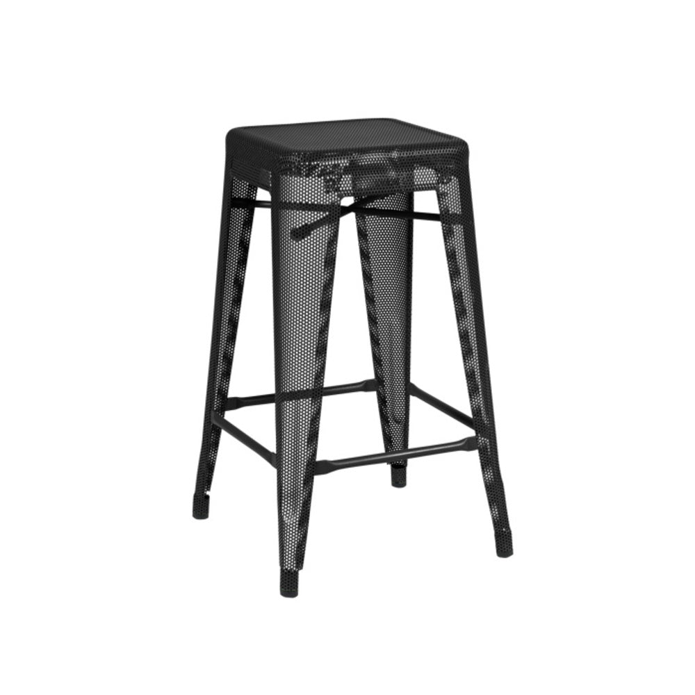 TOLIX Stool H65 Perforated Painted