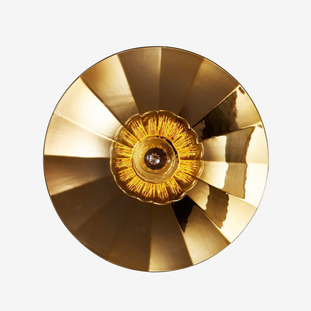RADAR INTERIOR Wall Light Zénith Fractale Gold