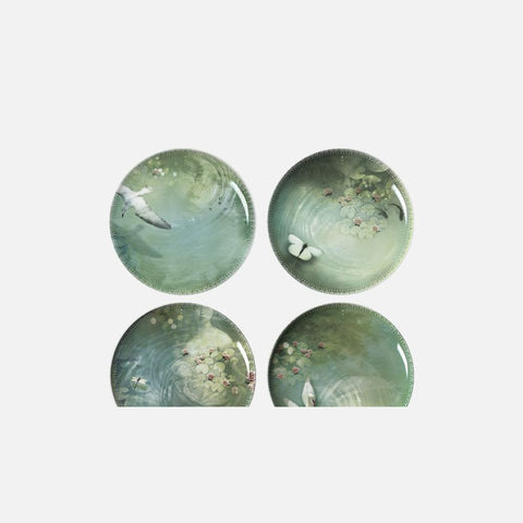 IBRIDE Set of 4 Different Plates Yuan Narcisse