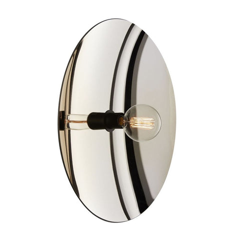 RADAR INTERIOR Wall Light Zénith Silver