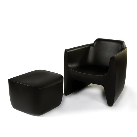 QUI EST PAUL Recycled Plastic Armchair Translation 72cm