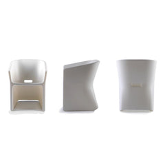 QUI EST PAUL Recycled Plastic Chair Sliced 74cm