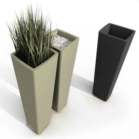 QUI EST PAUL Recycled Plastic Plant Pot All so Quiet 110cm