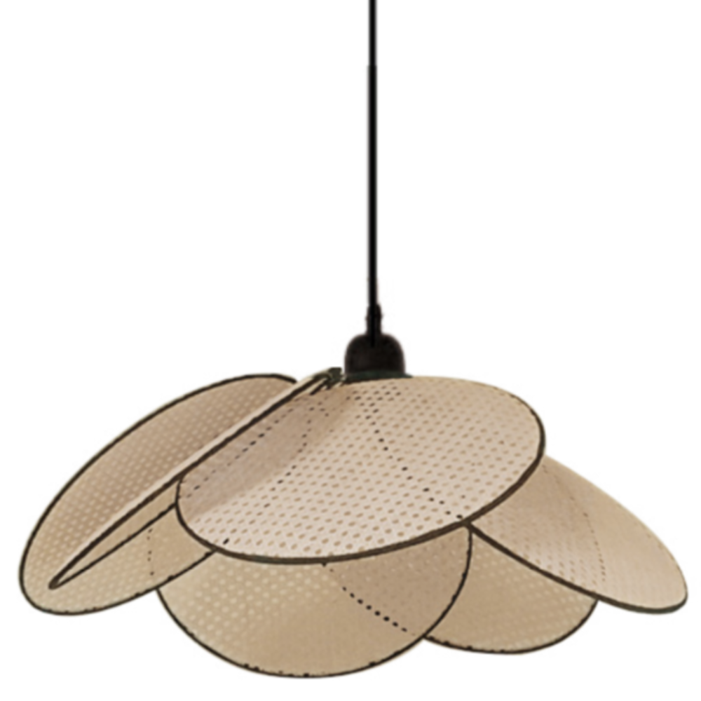 OPJET PARIS Suspension Light Cane Rattan 50cm