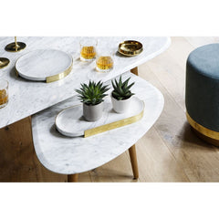 RED EDITION Coffee Table Small Marble