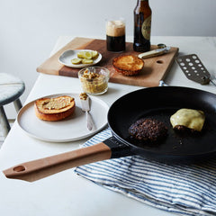 STAUB Frying Pan Round Wood Handle