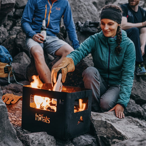 HÖFATS Beer Box Fire Basket