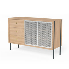 HARTO Dresser Gabin Oak & Light Grey