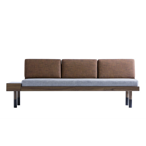 KANN DESIGN Sofa Mid Heather Fabric Grey