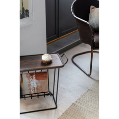 MAZE Side Table Minnie Mae Wood