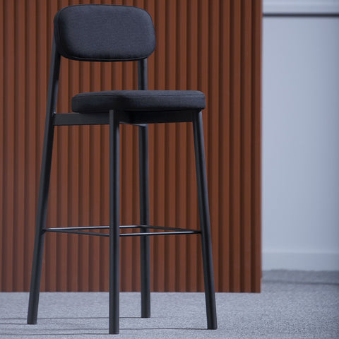 KANN DESIGN Bar Stool Residence Black 65cm