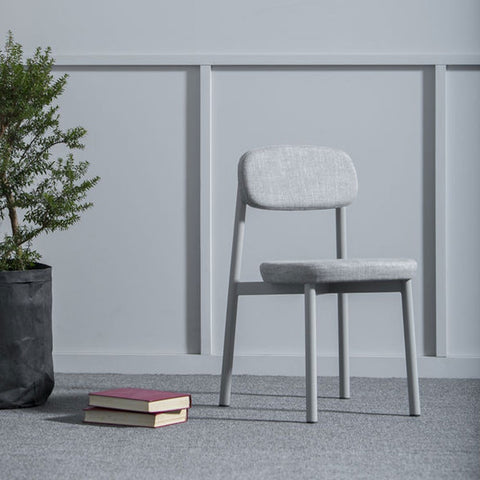 KANN DESIGN Chair Residence Heather Fabric Grey
