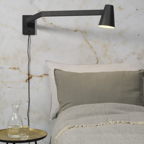IT'S ABOUT ROMI Wall Light Biarritz Black