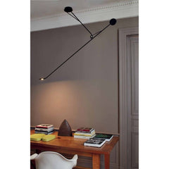 DCW EDITIONS Suspension Light Aaro Matt Black