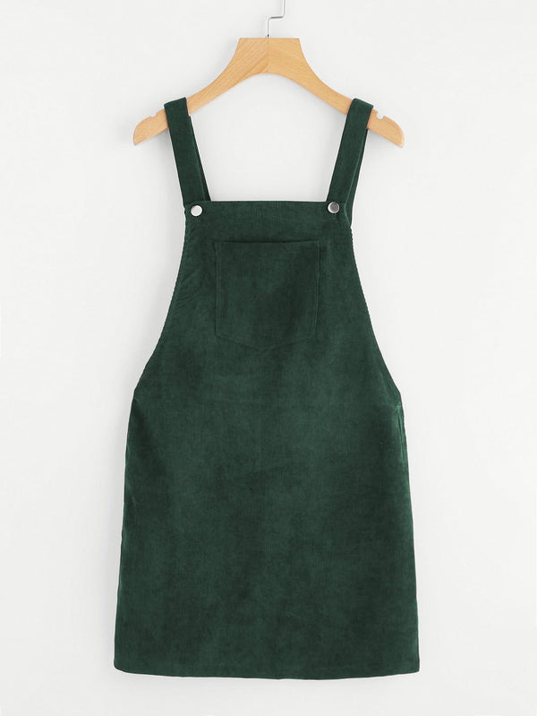 Jackie J Overall Corduroy Dress