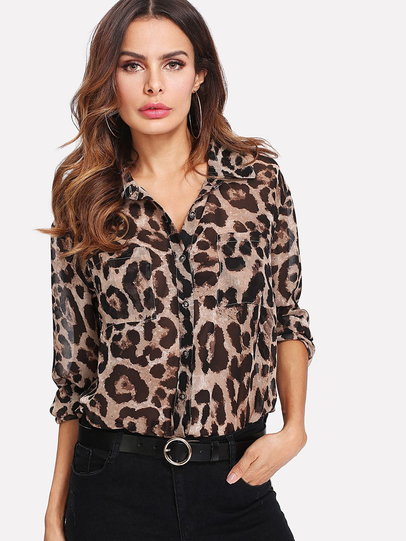 In The Wild Semi-sheer Utility Shirt
