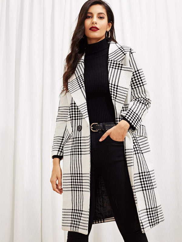 Holiday Soiree Pocket Side Coat