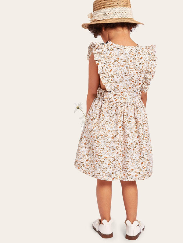 Cuteness Overload Ruffle Dress