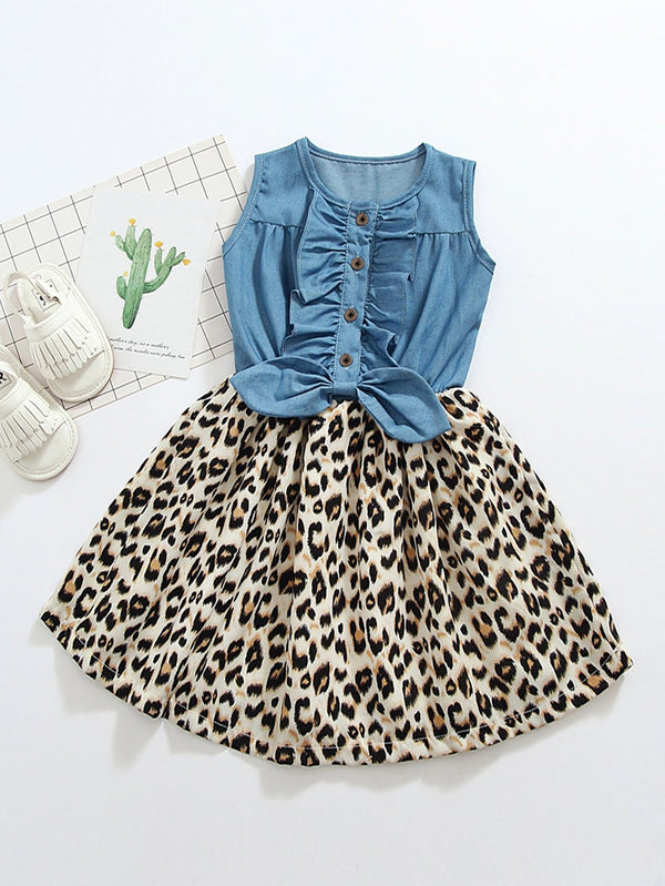 Hear Me Roar Dress - Toddler Girls